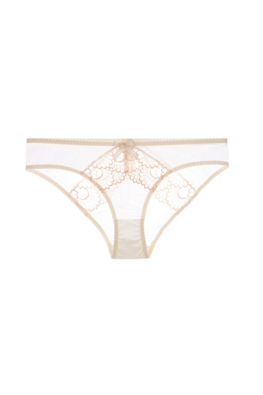 Cream Sensu Brief by Bordelle Workingirls luxury lingerie