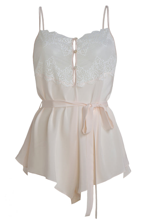 Mr Whippy White silk and lace Teddy by Mimi Holliday workingirls lingerie