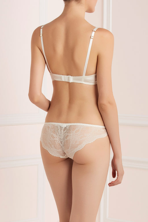 Ivory Lace back knicker by Lucile workingirls lingerie