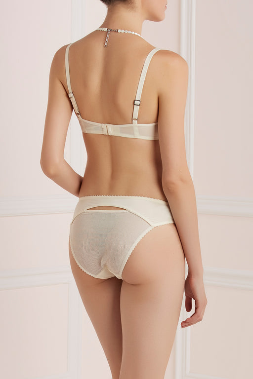 Mauritshuis white marble briefs by Marlies Dekkers workingirls lingerie