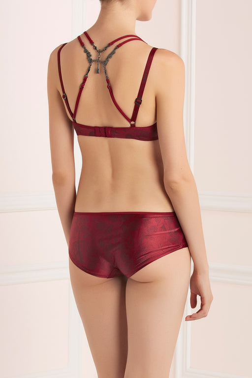 Johan red blood short by Marlies Dekkers workingirls lingerie