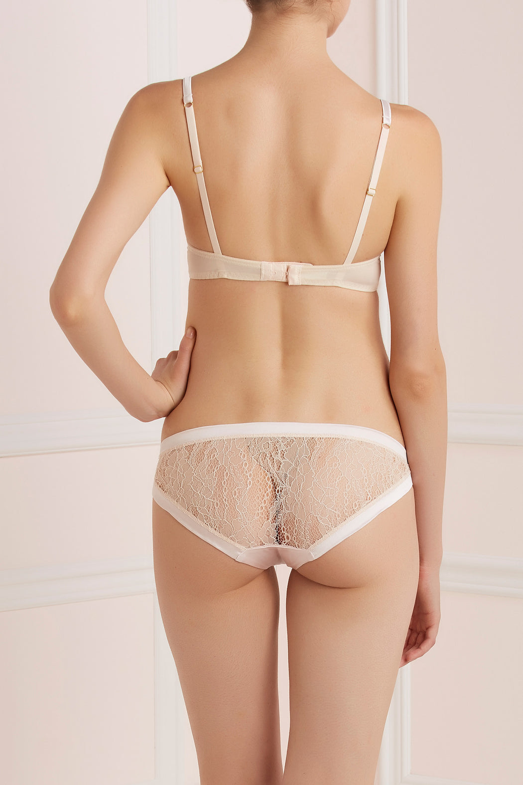 Silk and Lace Sugar Pie soft knicker by Mimi Holliday workingirls lingerie