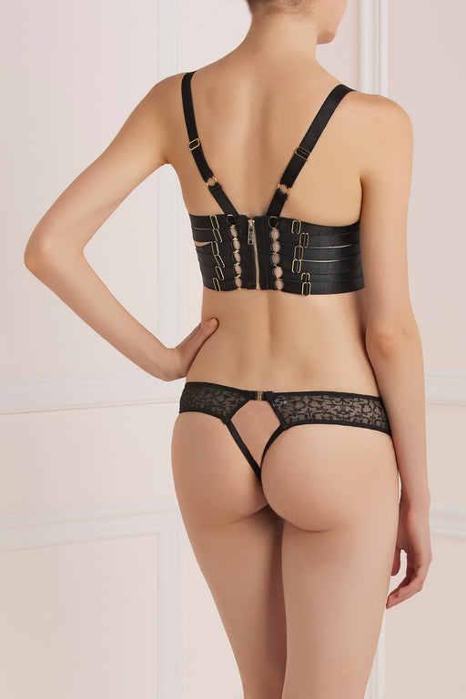 Workingirls Lingerie | Anatolia Peep Thong by Bordelle