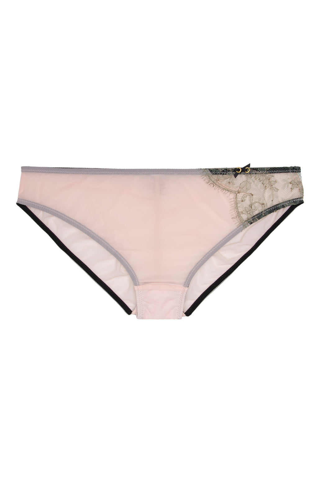 Pink and lace Isadora Brief by Lost in Wonderland workingirls lingerie