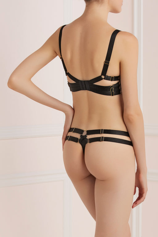 Workingirls Lingerie | Aubretia Thong by Bordelle