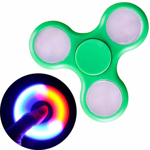 Spinner Verde Luz Led