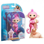 Fingerlings Glitter Monkey Interactivo Pink
