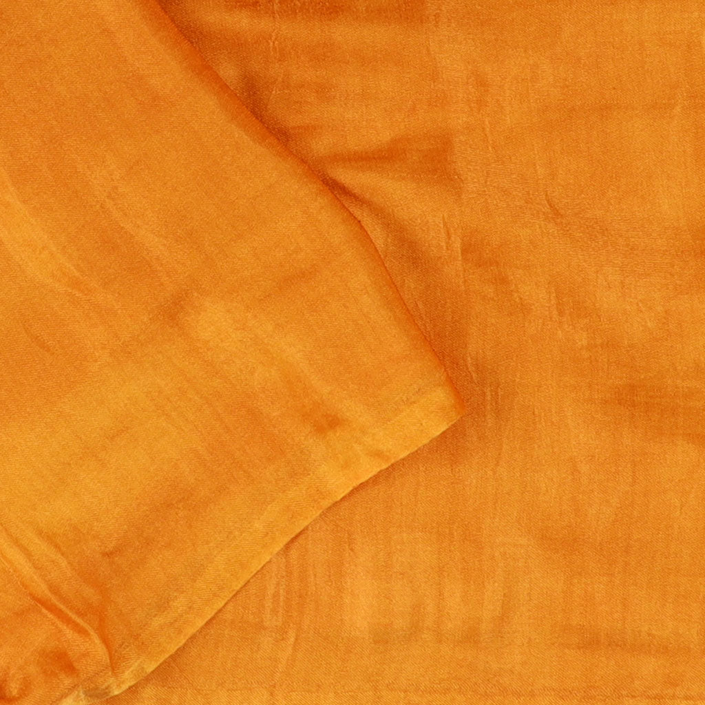 Maroon And Canary Yellow Bandhani Silk Half And Half Saree