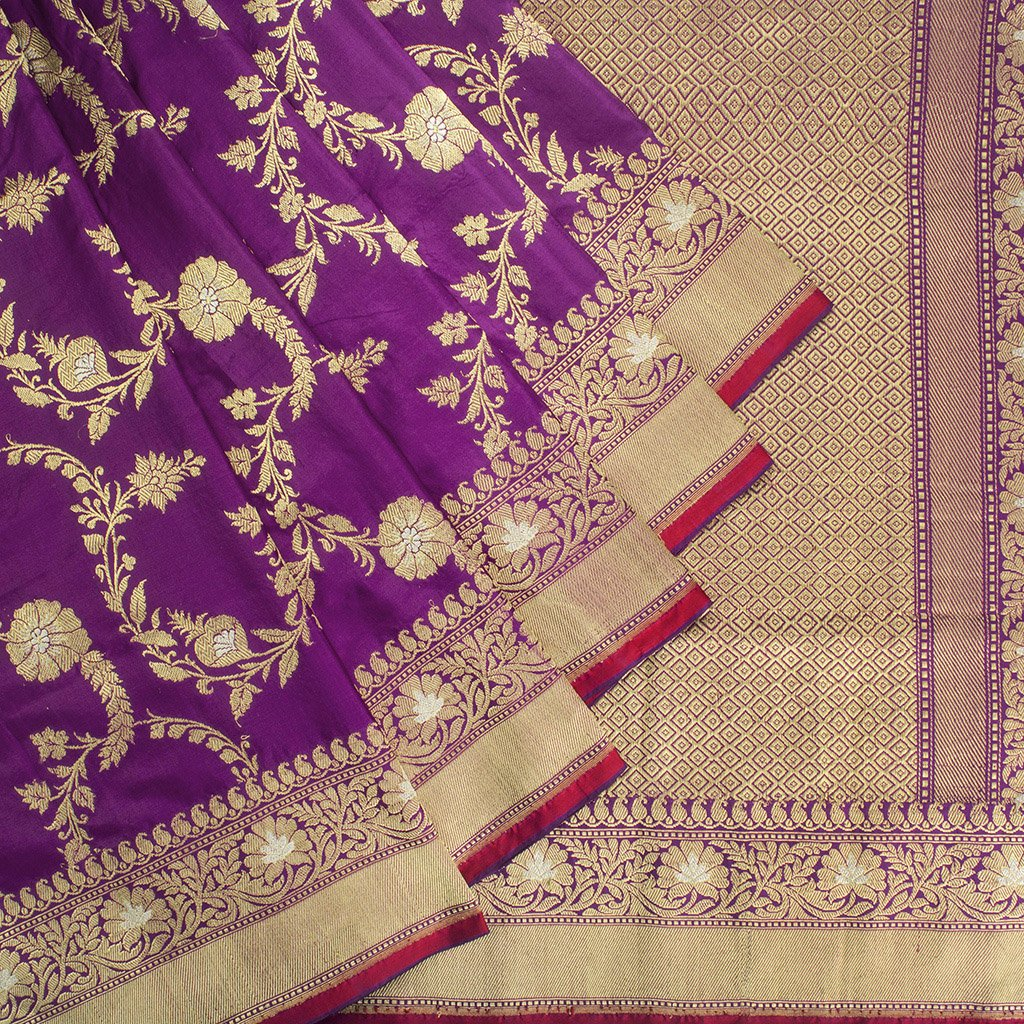 Purple-Banarasi-Silk-Handloom-Saree