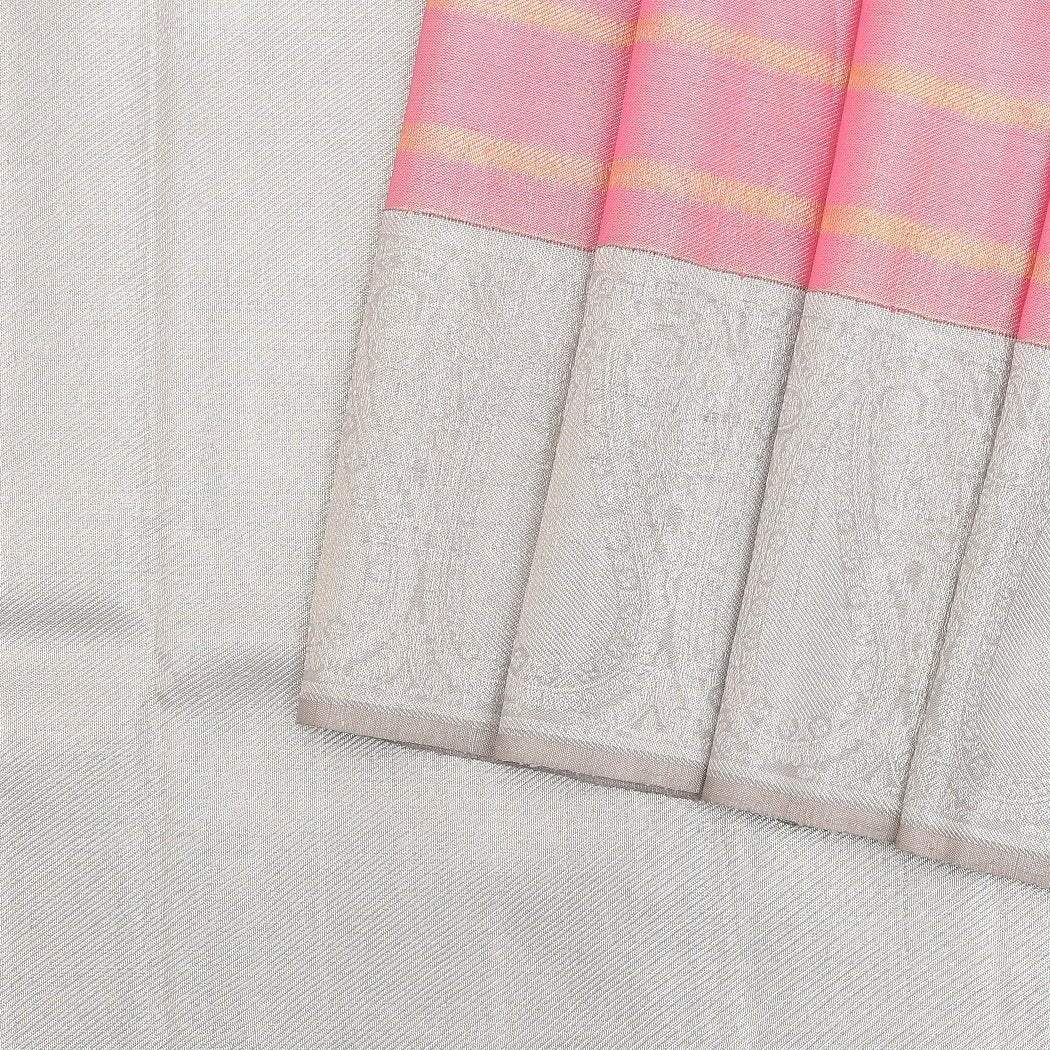 Flamingo-Pink-Kanjivaram-Handloom-Silk-Saree.