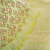 Lime-Green-Banarasi-Tussar-Silk-Handloom-Saree