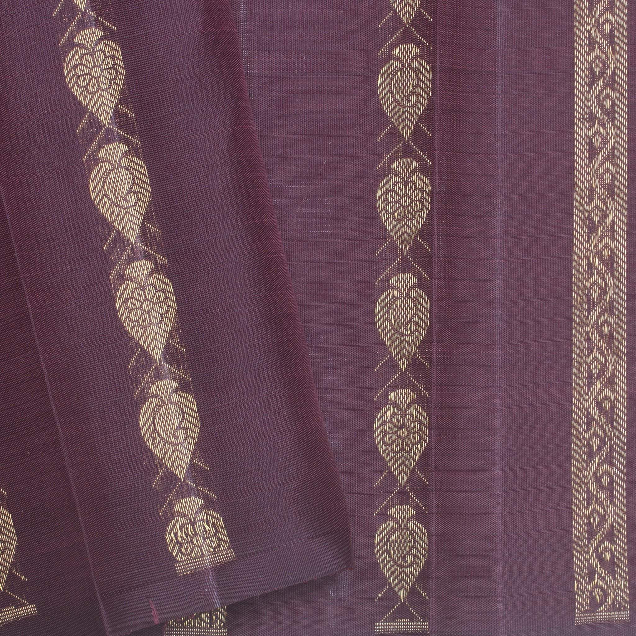 BB095898-Baby Pink Kanjivaram Silk Handloom Saree With With Checks