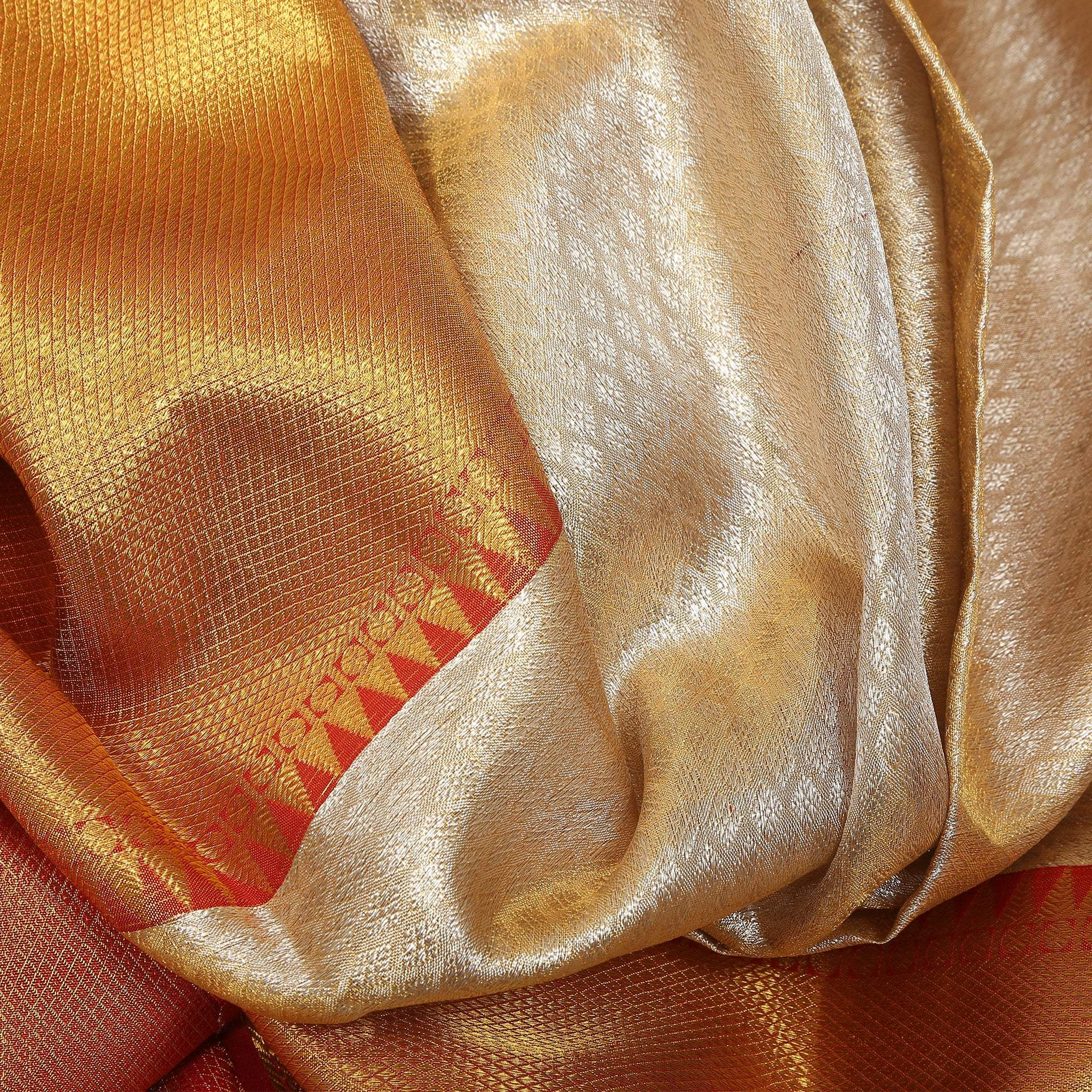BB096426-Off-White Handloom Kanjivaram Silk Saree