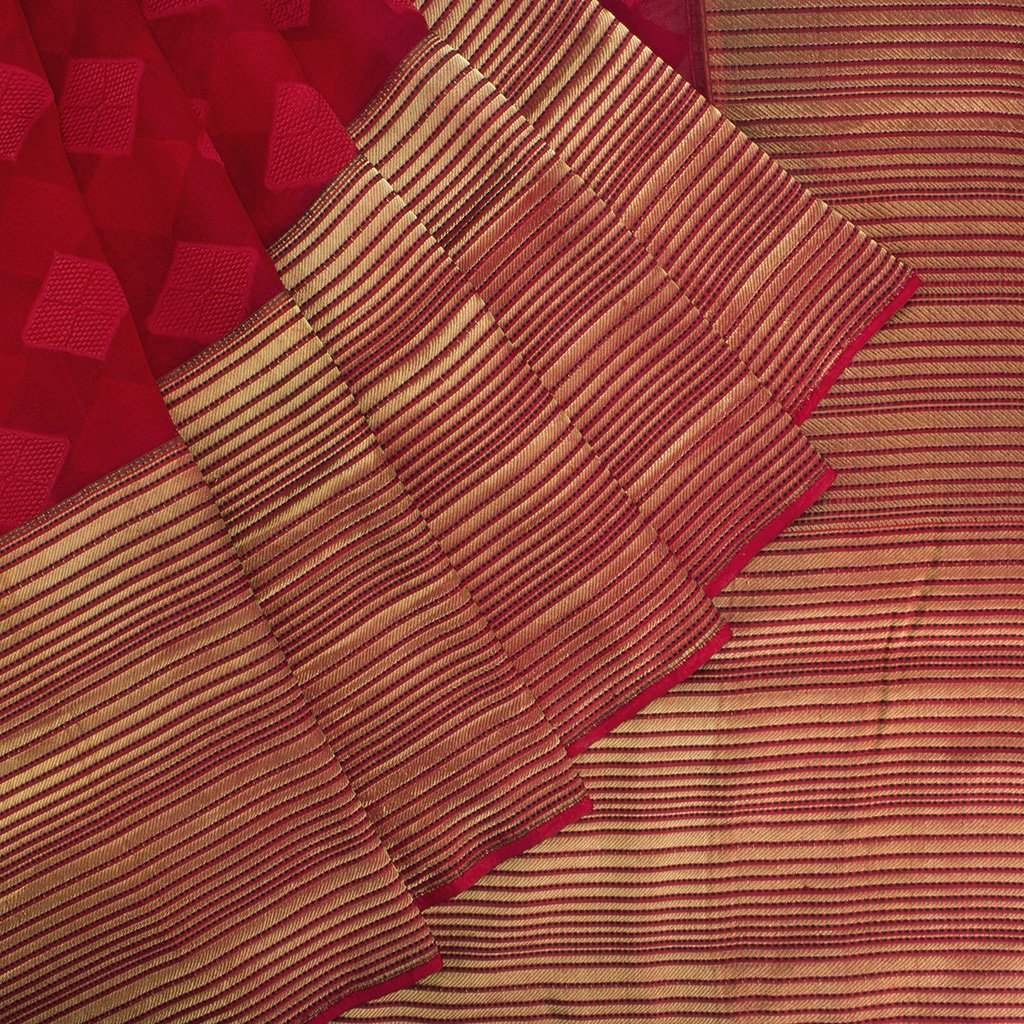 Berry-Red-Banarasi-Organza-Handloom-Saree