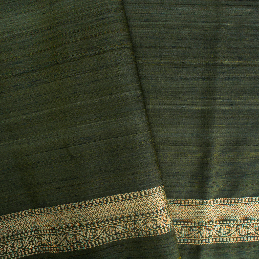 Multicolor Banarasi Tussar Handloom Saree