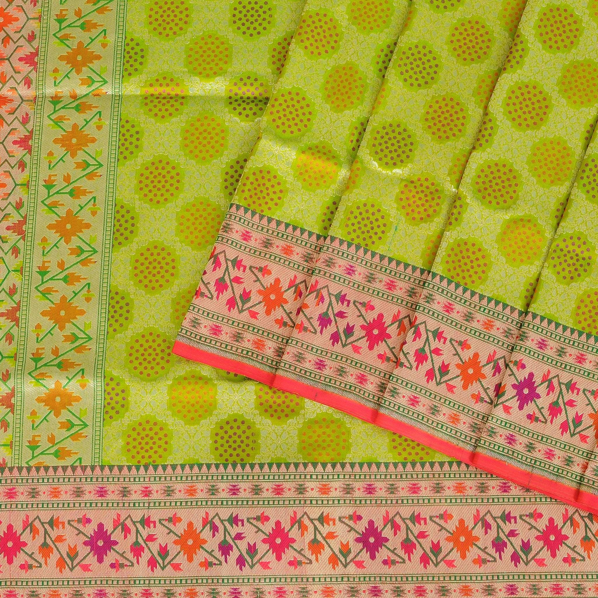 Apple-Green-Tanchoi-Banarasi-Silk-Handloom-Saree