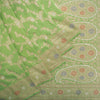 Spring-Green-Banarasi-Silk-Handloom-Saree