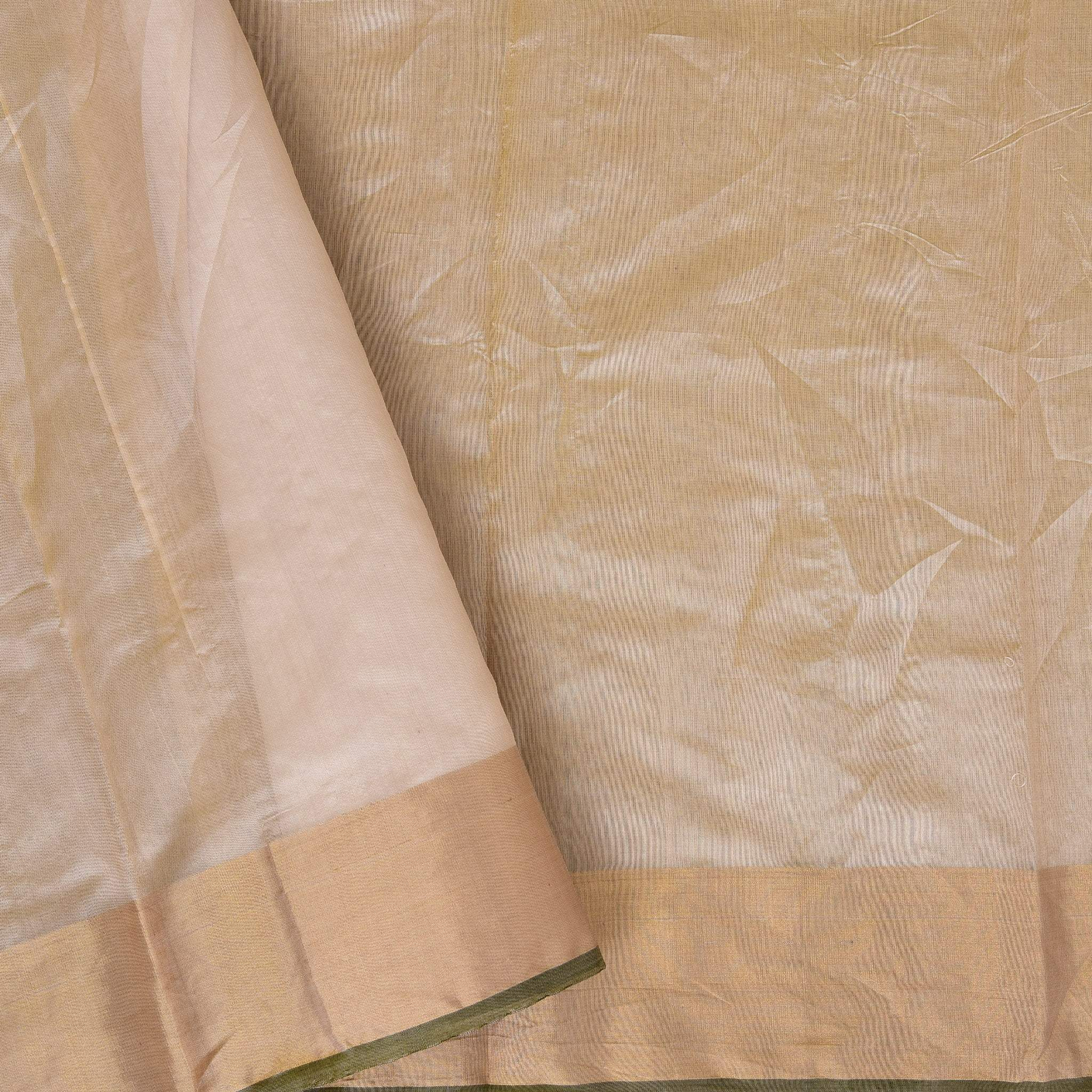 BB106800-Blush Peach Handloom Chanderi Saree