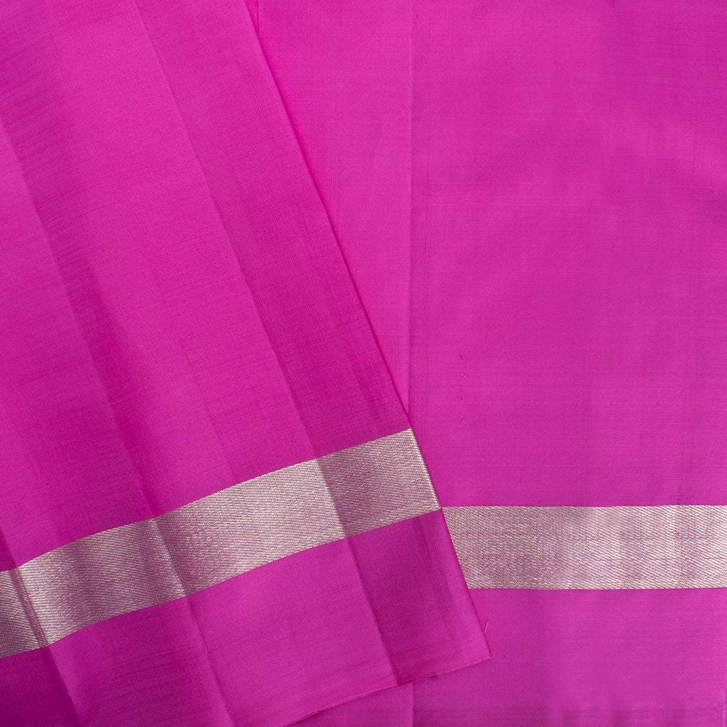 BB111637-Powder Blue Korvai Kanjivaram Silk Handloom Saree