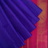 Ultramarine-Blue-Borderless-Kanjivaram-Silk-Handloom-Saree