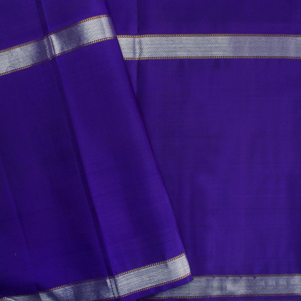 Hot Pink Kanjivaram Silk Handloom Saree With Big Border
