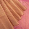Bronze-Orange-Borderless-Kanjivaram-Silk-Handloom-Saree