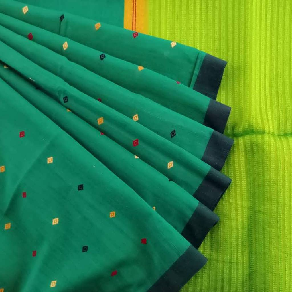 Buy Viridian Green Bailu Saree.