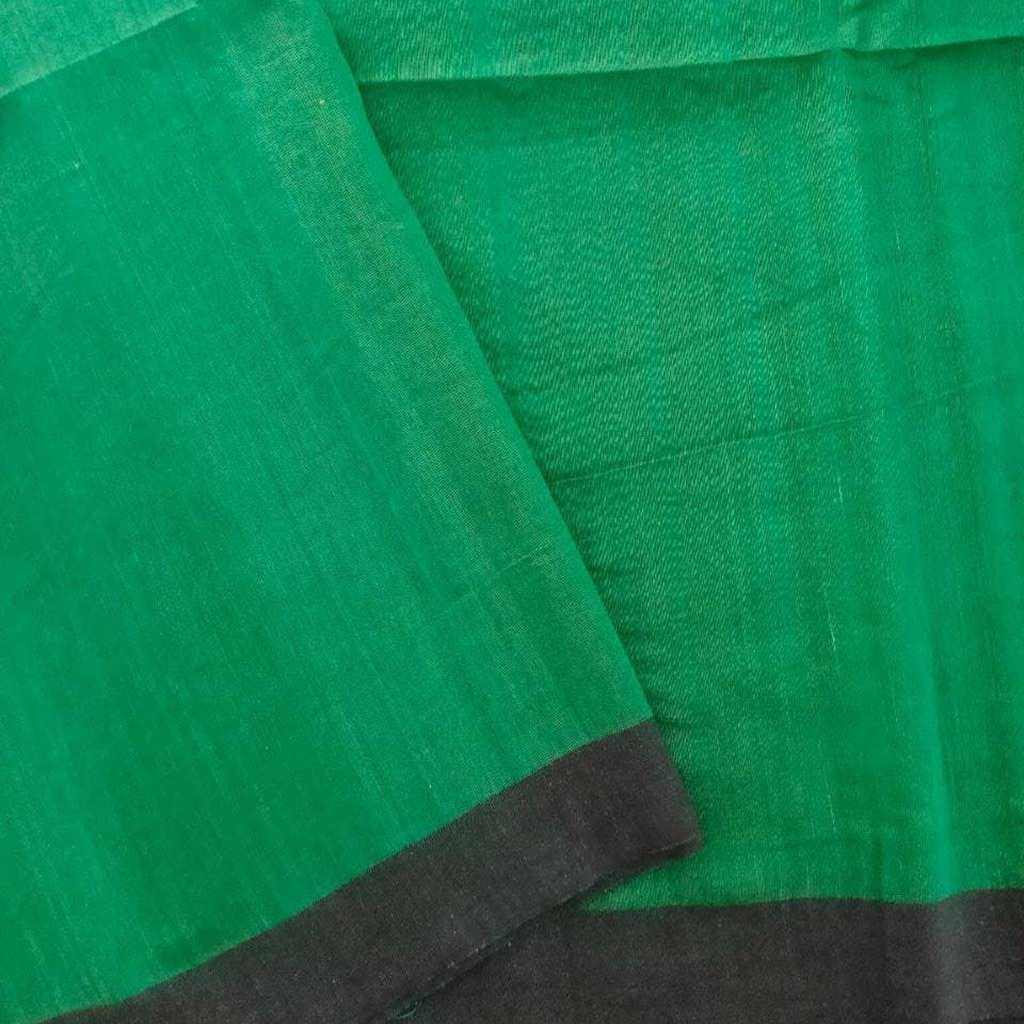 SALE056624-Viridian Green Bailu Saree.