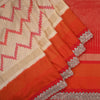 Buy Off White Silk Handloom Designer Saree