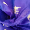 Buy Violet Chanderi Silk Fabric
