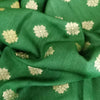Buy Green Silk Fabric