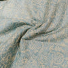 Buy Blue Tussar Embroidery Fabric
