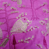 Buy PinkTussar Embroidery Fabric