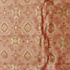 Buy Orange Cotton foil Fabric