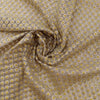 Buy Cream Net Embroidered Fabric