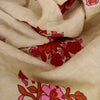 Buy Cream Cotton Printed Fabric