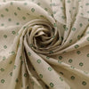 Buy Cream Tussar Printed Fabric