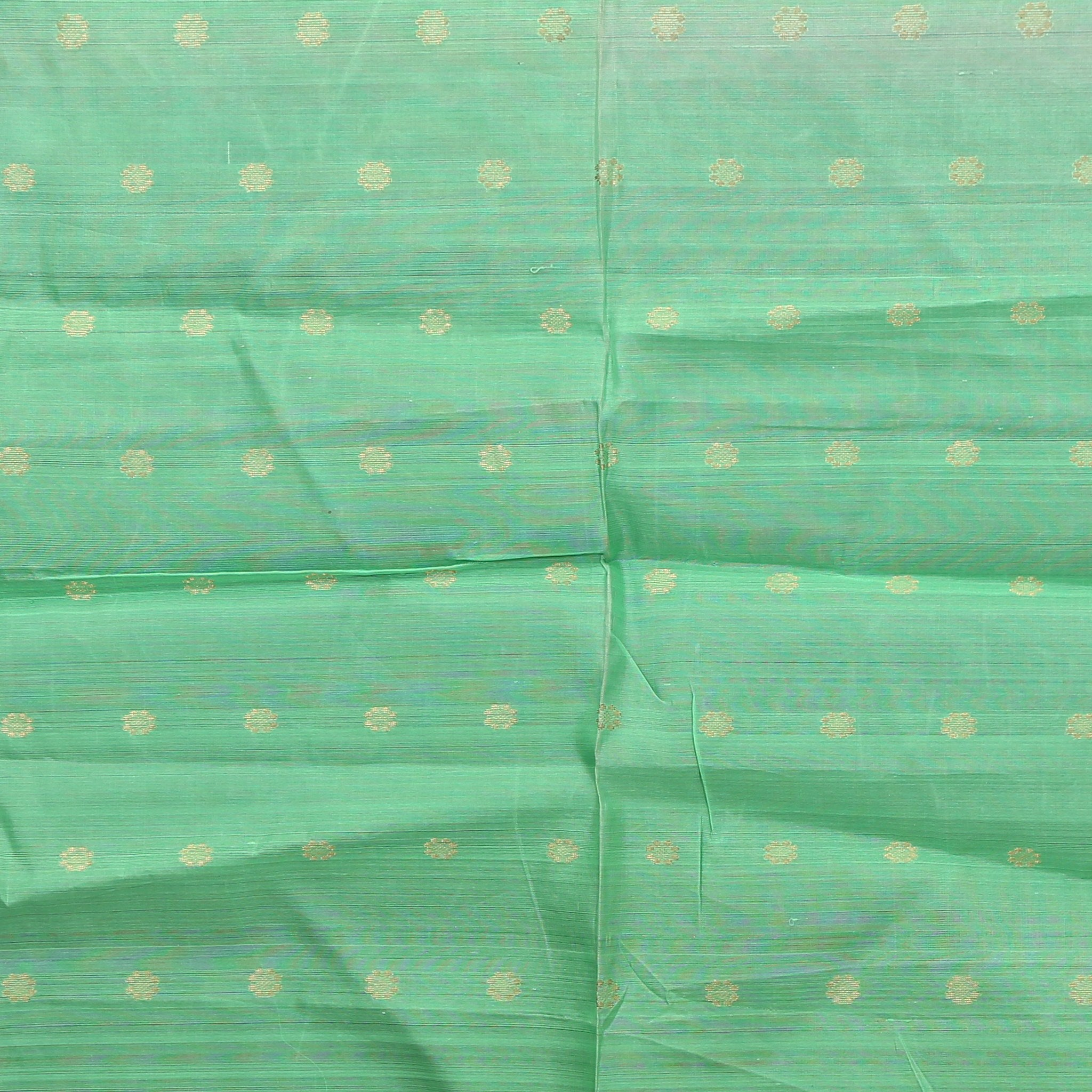 SBF0017-Pista Green Upadda Silk Fabric-1MTR