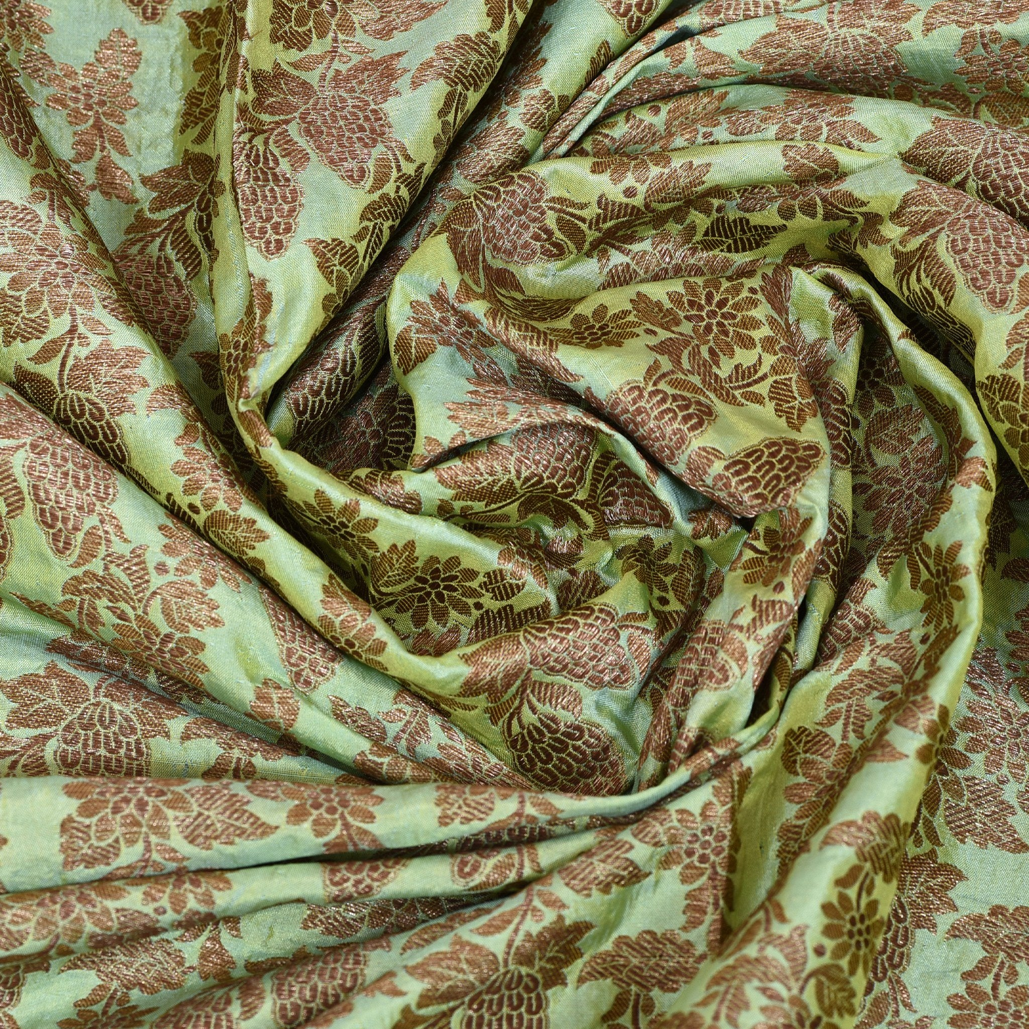 Mint-Green-Banarasi-Brocade-Blouse-Fabric
