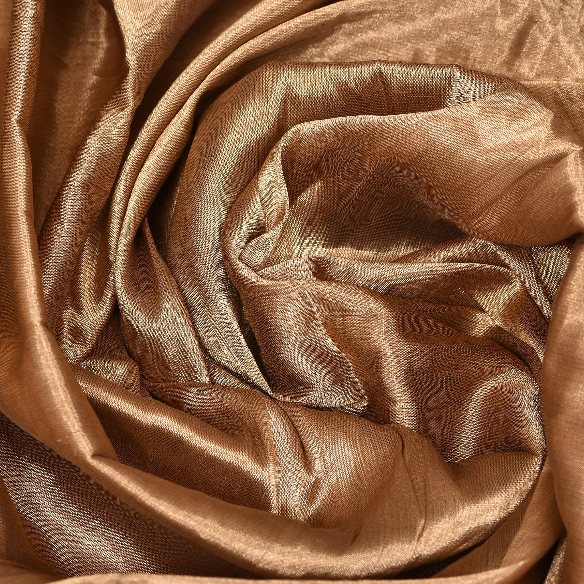 Gold-Tissue-Blouse-Fabric