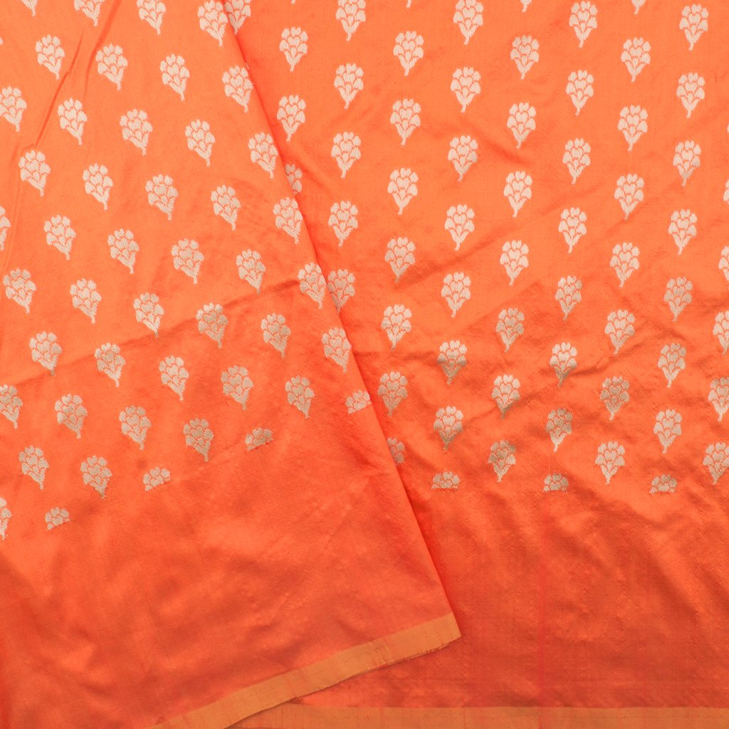 Turmeric Yellow Banarasi Silk Handloom Saree