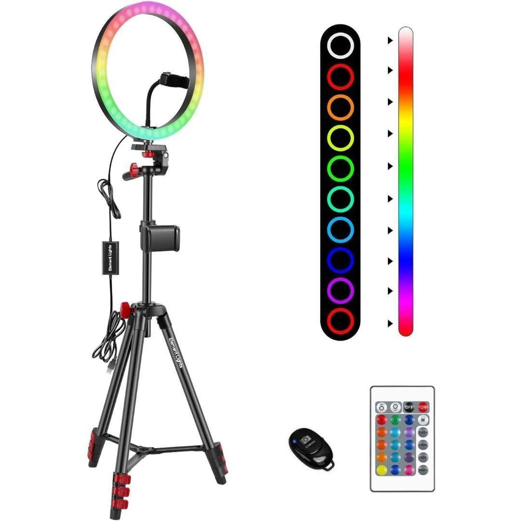 14 Inch LED Ring Light Multi-Color RGB
