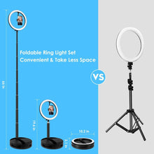 Load image into Gallery viewer, 10 Inch Foldable Ring Light