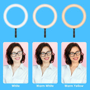 10 Inch Foldable Ring Light *PREORDER*