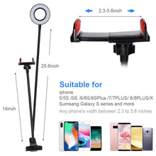 Load image into Gallery viewer, Flexible Ring Light (Table Mount)