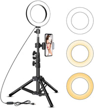 Load image into Gallery viewer, 6 Inch LED Ring Light