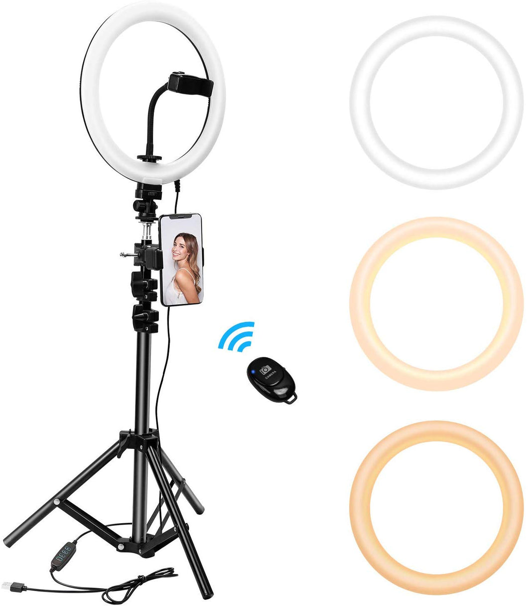 10 Inch LED Ring Light Kit