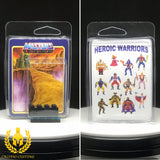 MOTU Heroic Warriors V1 Minifigure Display Case