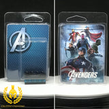 Avengers Minifigure Display Case