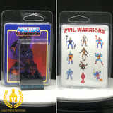 MOTU Evil Warriors V2 Minifigure Display Case